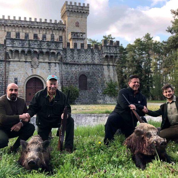 wild boar hunting italy