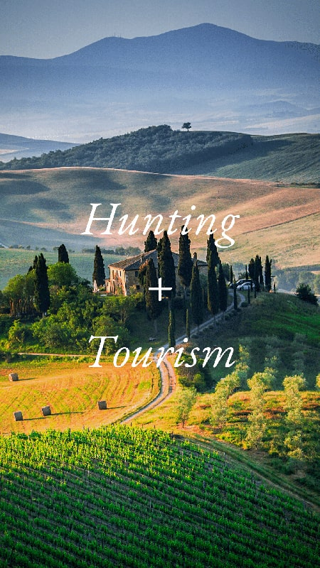 hunting italy tourism