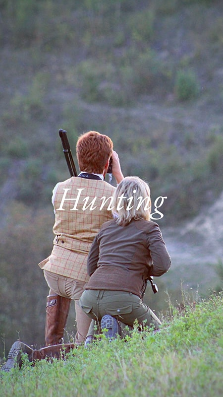 hunting italy