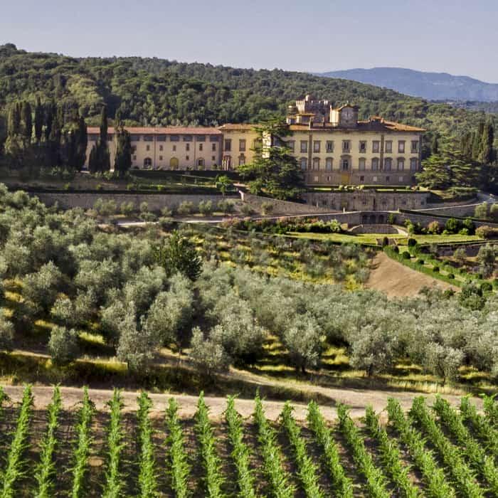 Tuscan countryside villa